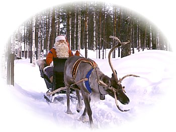 Click here to go to Santa's Village, in Finnish Lappland